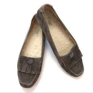 Ugg Odyssa Chesnut Slip On Loafers